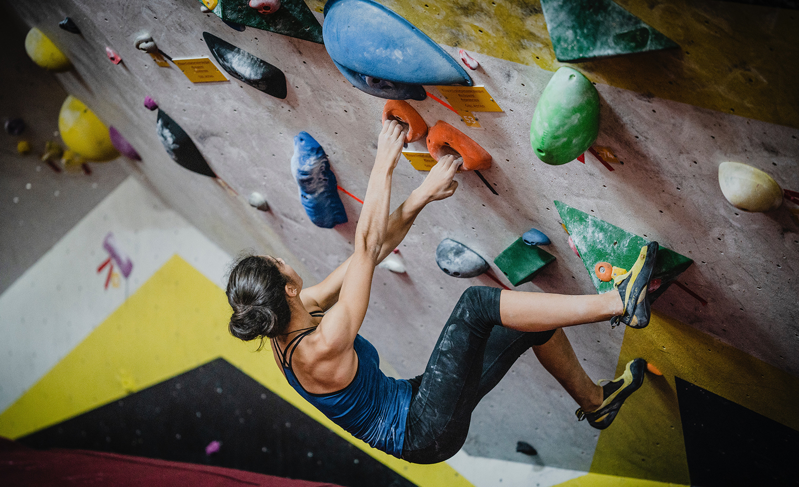 rock climbing is an adventure sport that can keep you fit.
