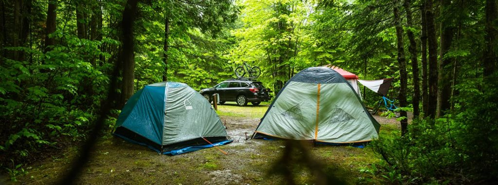 camping in the rain - 5 tips
